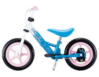 沒有 IDEs (助手) 踏板自行車 D BIE + 磅安娜冰雪女王腿蹬踢自行車平衡自行車自行車
