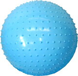 マッサージボール55cm(ブルー) STT-153【あす楽対応】【HLSDU】【楽ギフ包装】