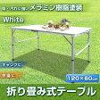 折り畳み式アウトドアテーブル PC1812-2 120×60cm【代引不可】【10P29Jul16】