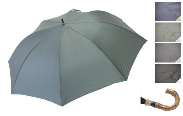 軽くて、小さくて、大きい雨傘 紳士用 70×8P.高密度無地 ショートワイド 586 軽くて、小さくて、大きい雨傘