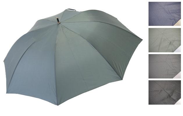 軽くて、小さくて、大きい雨傘 紳士用 80×8P.高密度無地ショートワイド 587 軽くて、小さくて、大きい雨傘【おおきい】