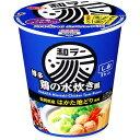 サッポロ一番 和ラー博多 鶏の水炊き風 75g×12個入り (1ケース) (KK)