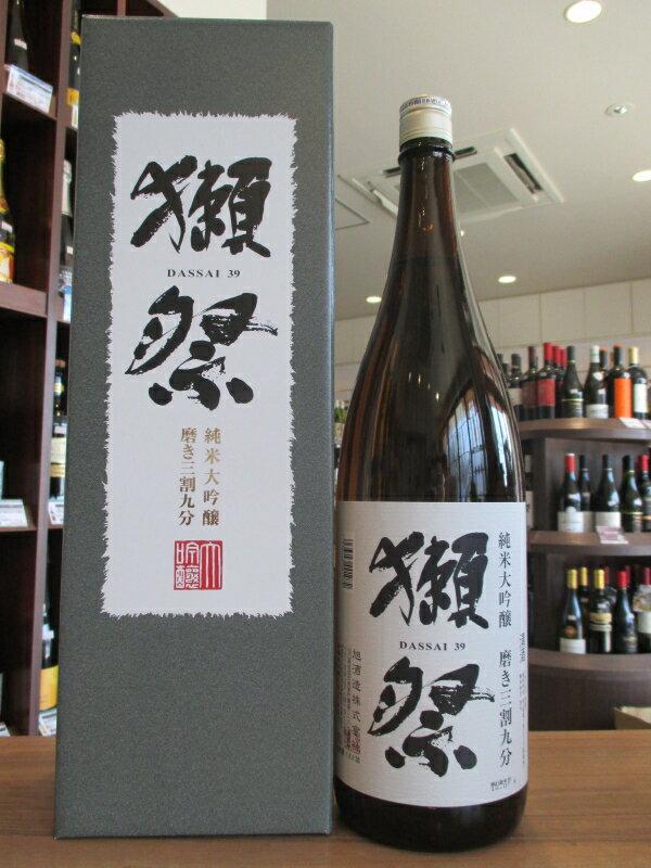 【正規特約店】獺祭 純米大吟醸 磨き三割九分 DXカートン入 720ml
