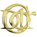 Christian Dior クリスチャンディオール エンブレムロゴ ブローチ ヴィンテージアクセサリー GP×ゴールド レディース【中古】【送料無料】