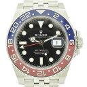 ROLEX ロレックス GMTマスターII メンズウォッチ 腕時計 赤青ベゼル 126710BLRO ステンレススチール 自動巻き【中古】【送料無料】