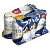 サントリー オールフリー ノンアルコール 350ml×6缶 4901777211902