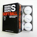 ダイワマルエス ソフトボール検定球2号 (1箱6個入り) MARUS-soft2【02P05Nov16】【RCP】