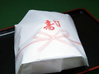 お祝い用赤飯まんじゅう・5個【赤飯万寿】の紹介画像3