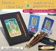 《名入れ》Have a Nice Dayオリジナルデジタルクロック&木製ボールペンのギフトセット【福時計ギフトセット】置時計/名入れ彫刻ボールペン/プレゼント