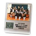 《 名入れ 》 レコーダー フォトフレーム クロック【 k-886 】   卒業 同窓会 記念品 周...
