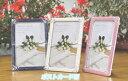 《送料390円》高級ブライダルフォトフレーム【MJ36/P】全3色ポストカード判