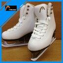 ヘッド(HEAD) クラシック フィギュア スケート 靴 JADE 研磨加工済み(浅溝) エッジカバー付き