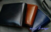 【Helena/ヘレナ】[Largo/ラルゴ]二つ折り財布(小銭付札入)(メンズ/レザーウォレット/革製)3953【送料無料】