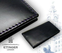 ��ETTINGER/���åƥ��󥬡��ۢ�BLACK-PURPLEEURO���쥯�����ʥ�����åȡ�806AJR