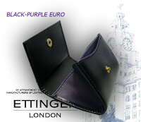 ��ETTINGER/���åƥ��󥬡��ۢ�BLACK-PURPLEEURO���쥯�����(������ѡ���/�����ɥݥ��å���)2034JR