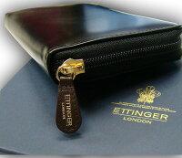【ETTINGER/エッティンガー】BLACK-HAVANA-EASTERROSEコレクション(ウォレット)2051CJR