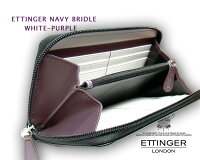 ���åƥ��󥬡���ETTINGER��NAVY-WHITE-PURPLE���쥯�����