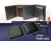 【キプリス/CYPRIS】Perla nera/(ペルラ ネラ) ■二つ折り財布(小銭入れ付き札入)8442【送料無料】【楽ギフ_包装】