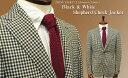 ■TRAD SALE! 秋冬 【 RING JACKET / リングジャケット 】 3ツ釦段返り白黒シェパードチェックジャケット ( 55F22A ) [ ST...