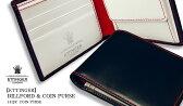 ETTINGER / エッティンガー ●NAVY-WHITE-RED Color Collection BILLFOLD / カード&コインパース 141JR ( メンズ/レザー/二つ折り財布/コインケース/カード入れ/ビルフォード ) 【楽ギフ_包装】( KBHV )