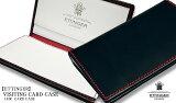 ETTINGER / エッティンガー ●NAVY-WHITE-RED Color Collection カードケース ( 限定品 ) 143JR ( メンズ/レザー/カード入れ/名刺入れ ) 【楽ギフ_包装】 ( BN )