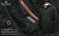 【LAVENHAM/ラベンハム】[DENSTON-L/デンストン-エル]ツイードキルティングジャケット