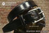 ��GLENROYAL/�����?����HARNESS BRIDLE BELT(���ƥå���)06-6234-NEW BLACK(NERO)����/(�ϡ��ͥ��֥饤�ɥ� �쥶���٥�� ��� ���� �֥�å�) �ڳڥ���_�����ۡڤ������б���