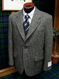 Messenger Fall/Winter Tweed Gray Herringbone Sack Sportcoat