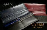 【CYPRIS/キプリス in Azure】■Night&Day 長財布(ササマチ束入)8540 (ロングウォレット/革製/レザー/メンズ) (MNTV) 【送料無料】
