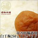 【送料無料】災害時備蓄用 白干梅 250g×12パック(3kg)
