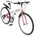 スウィツスポート 26型クロスバイク折畳自転車(ライト・カギ付)