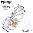 楽天フルショット楽天市場店【2020モデル】ウィンウィンスタイル ヤンチャスカル CB-650 YANCHA SKULL スパンコール STAND BAG ゴルフキャディバッグ WINWIN STYLE