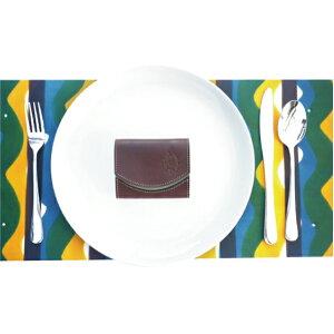 小さい財布 栃木レザー 【極小財布】クアトロガッツ ペケーニョチョコミント