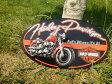 ショッピングハーレーダビッドソン 【 アメリカン雑貨 】【メール便×】【 ブリキ看板 】 H-D FAT BOY OVAL  【ハーレーダヴィッドソン ハーレーダビッドソン Harley-Davidson ブリキ看板 】【 10P27May16 】