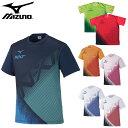 【あす楽対応】ミズノ(mizuno)メンズ Tシャツ(レディース 半袖 シャツ トップス テニス ソフトテニス トレーニングウェア 運動 スポーツ)62JA0Z13