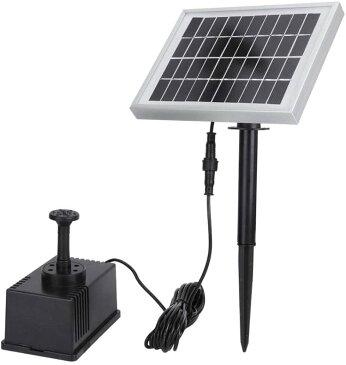 ソーラー噴水 電源は必要なし 池ポンプ 太陽光 魚のいる池や水槽の酸素供給、庭の噴水、灌漑などに利用可能 SP002