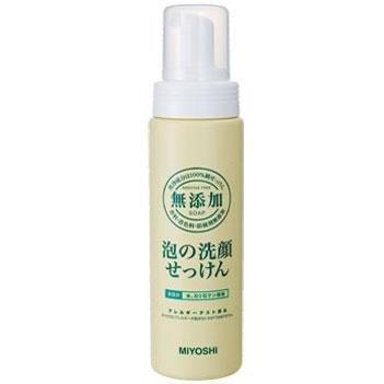 ミヨシ 無添加 泡の洗顔せっけん 200ml 。。