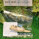 【ハンドメイドミニチュア アニマルズM】MF-154 ラッコ 彫刻アーティスト PAULINO PINCA とのコラボ 動物の体と動きの特徴を繊細にとらえながらハンドクラフトの素朴で温かみのある作風が魅力。現在、セブ島に工房を構え活動中。