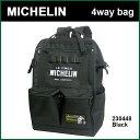 Michelin 4Way Bag 230448 Black ミシュラン バッグ ショルダー リュック キャリー ハンドバッグ ミシュランマン バックパック ディバッグ