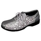 【】【超軽量タイプ】シルバー靴ひも付きサイドゴムタイプ【サイズ:22.0〜25.0】【外出用】【婦人・女性用】【両足販売】・外出が楽しくなるオシャレなシューズ。【smtb-TD】【