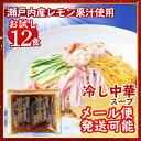 お試し500円 冷し中華スープ(瀬戸内産レモン果汁使用) 業務用 小袋 60g×12袋 ポイント