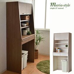 食器棚マリアMA−ドアタイプ上置き&9080Cキッチンキャビネット【日本製】