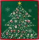 風呂敷 【サンタ祭り】 50cm ふろしき 風呂敷専門店 小風呂敷 サンタ クリスマス メール便 お歳暮 御歳暮