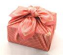 デザイナーズ風呂敷 蓮の花びら。包むと蕾みになります。風呂敷デザインコンペ2009大賞作品 風呂敷 大判 【Lotus・フラミンゴピンク(..