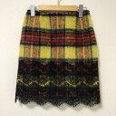GUILD PRIME ギルドプライム ひざ丈スカート スカート Skirt Medium Skirt【USED】【古着】【中古】10015588