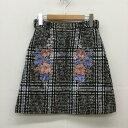 31 Sons de mode トランテアンソンドゥモード ミニスカート スカート Skirt Mini Skirt, Short Skirt【USED】【古着】【中古】10029982