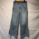 ZARA BASIC ザラベーシック デニム、ジーンズ パンツ Pants, Trousers Denim Pants, Jeans 裾カットオフ/スリット【USED】【古着】【中古】10031474