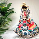 浴衣羽織 和風 和柄 浴衣 モダン 甚平オーバーサイズはおり 踊り 浮世絵風 和モダン 総柄 ロング丈薄手 紺リゾート4050
