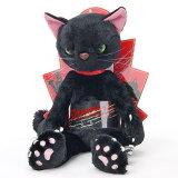 米田民穂 スクラッチ(Scratch)黒 MSサイズ 猫のぬいぐるみ[※メール便不可]