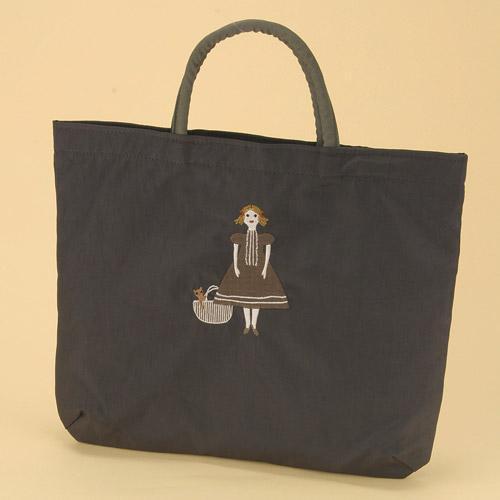 ATSUKO MATANO(マタノアツコ)刺繍バッグ マイドール (トートバッグ/エコバッグ/ショッピングバッグ)【メール便も可能】